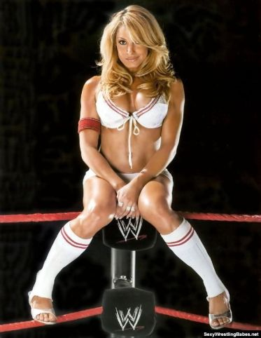 I have professed my love for Trish before. Easily my favorite diva, she had both the sex appeal and the wrestling ability.