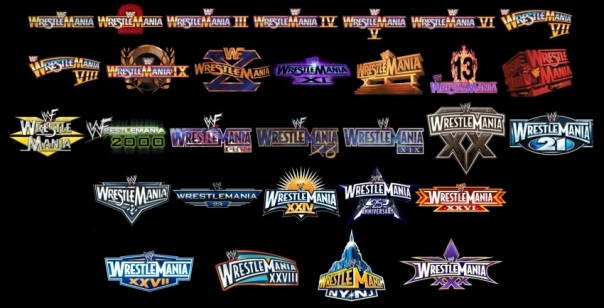 WrestleManiaLogos