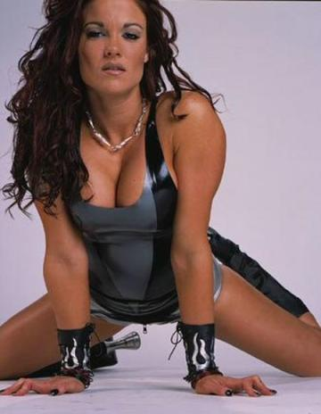 A close second to Trish. Lita would always catch my attention. Her attitude, moonsault, and thong always set her apart.