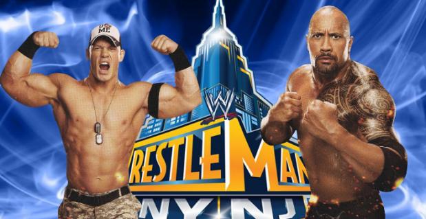 The-Rock-vs-John-Cena-For-WrestleMania-29